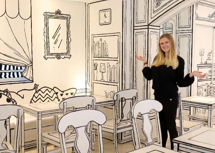 まるで絵の中にいるみたい! 新大久保にある「2D Cafe」は漫画のようなカフェ