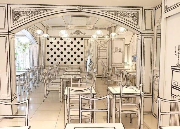 東京新大久保的平面手繪風咖啡廳「2D Cafe」讓你成為漫畫主人公!