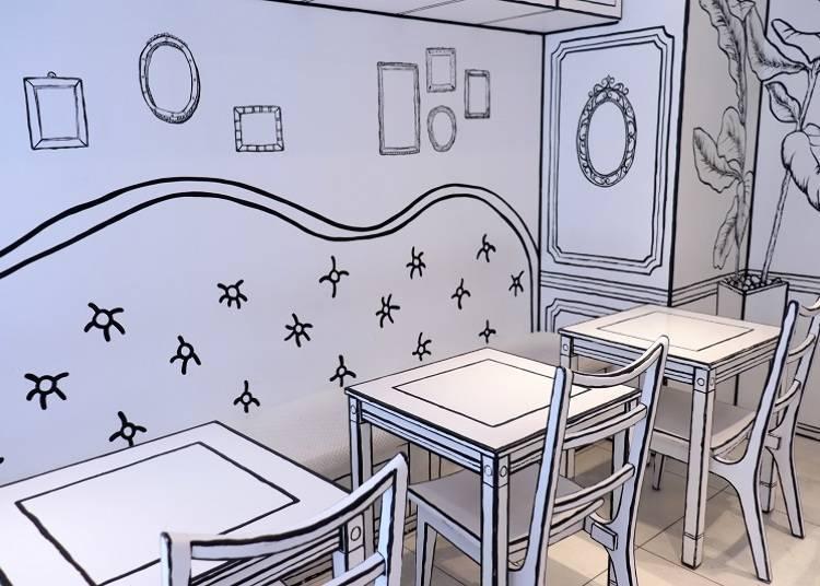 每一處都好拍的「2D Cafe」店內空間