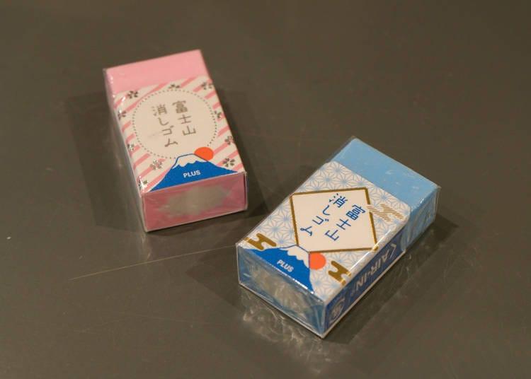 日本Loft文具、雜貨推薦1:用雙手擦出那座著名代表物「AIR-IN 富士山橡皮擦」