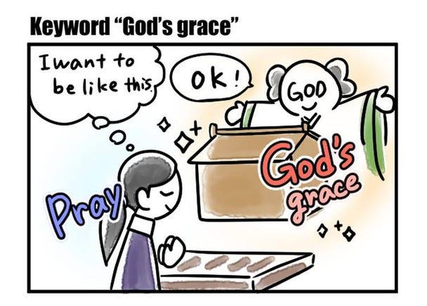 """Keyword """"God's grace"""""""