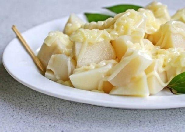 台湾人のマヨネーズを使った料理:冷たいタケノコ×台湾マヨネーズ
