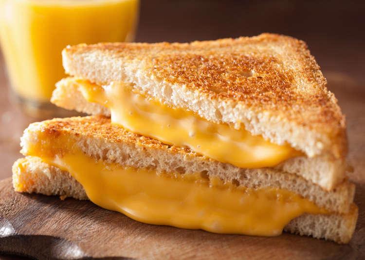 パンとチーズが余ったらそれぞれ何を作る?海外の簡単レシピがどれも美味しいそう!