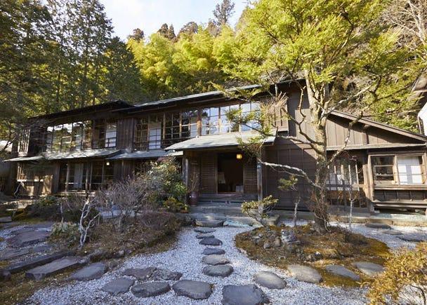 ■ Kanaya Hotel History Museum traces the origin of the Kanaya Hotel, which laid the foundation for Nikko's development in the Meiji era