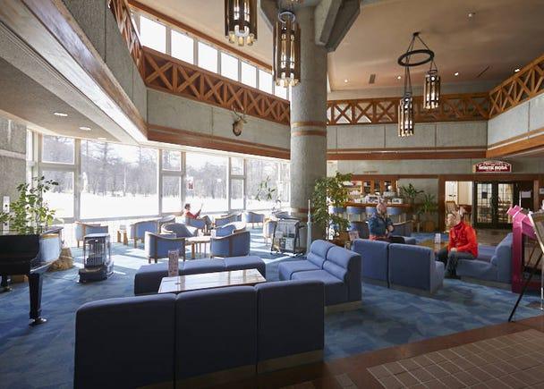 ■ Nikko Astraea Hotel: Enjoying hot springs and cross-country skiing
