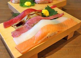 長20公分的生魚片壽司也能吃到飽?秋葉原高CP值壽司吃到飽「壽司酒場 富山」