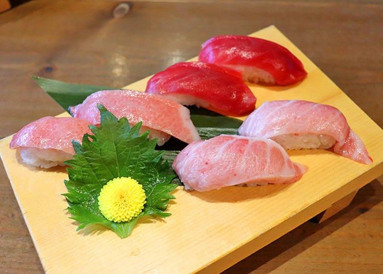 微奢华的「60种寿司吃到饱~富士极方案」 连黑金枪鱼与肉寿司都有!