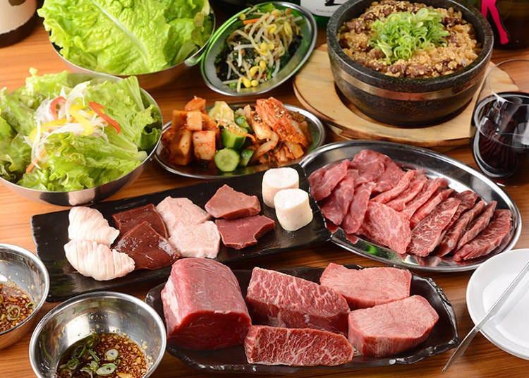 MISTER燒肉店內菜色大公開