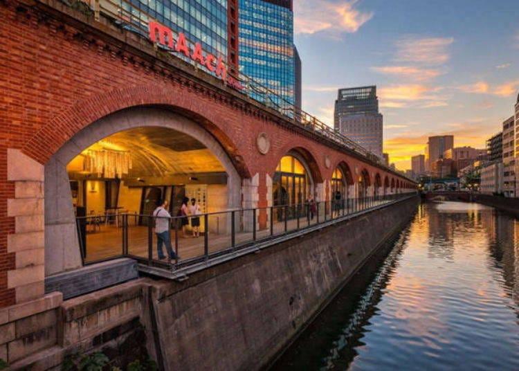 中央通りで旅行者に便利な買い物スポット!ロケーション抜群「マーチエキュート神田万世橋」
