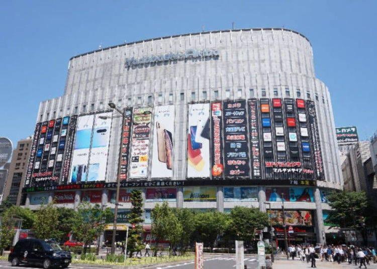 1. Yodobashi Akiba: Massive home electronics retailer directly connected to Showa-Dori Exit!