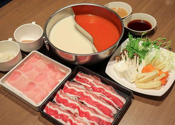 秋叶原牛肉火锅、寿喜烧吃到饱「但马屋 友都八喜AKIBA店」