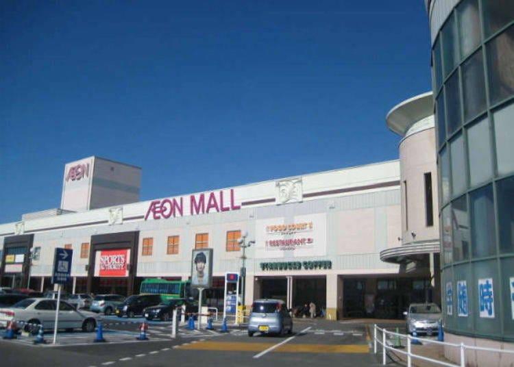 成田機場附近景點⑦「AEON MALL成田」最適合購物的好去處