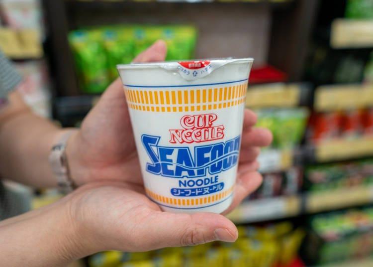 5. 日本を代表するカップ麺「カップヌードル」