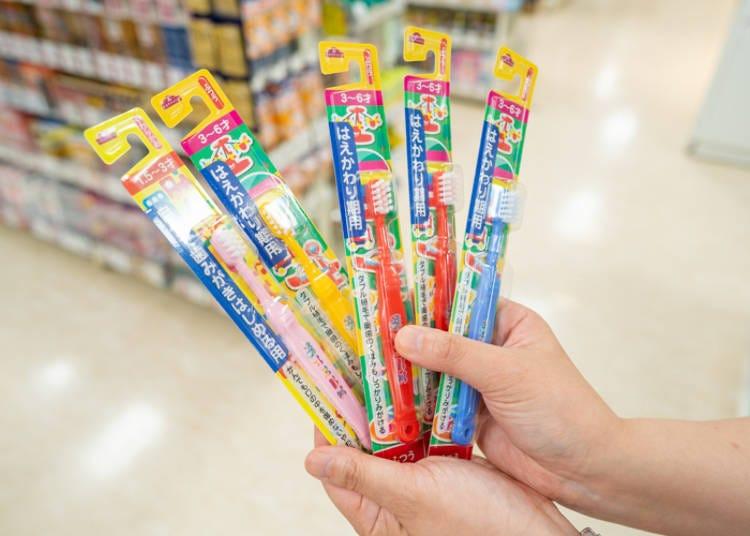 AEON超市必买8. 实用的超人气伴手礼「全套儿童用牙刷」