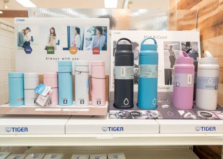 AEON超市必買10. 全家人人都要有一個「虎牌TIGER 各種不銹鋼保溫保冷瓶」