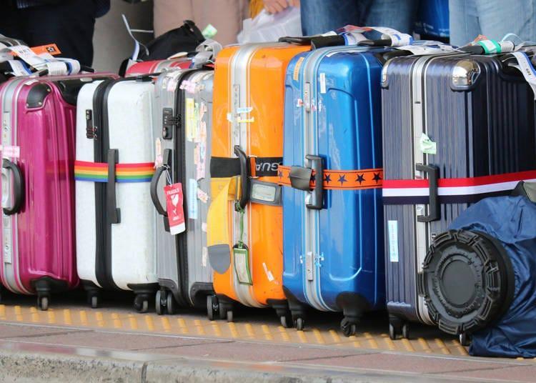 スーツケースの破損が少なくて感動!
