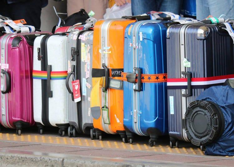 行李箱不会被弄得破破烂烂的超感动!让人意外的成田机场
