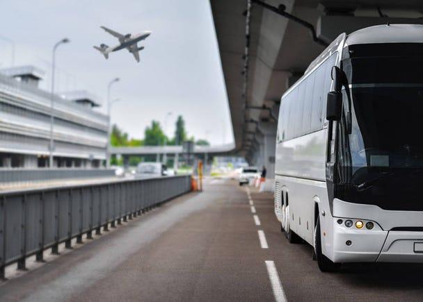 バスで成田空港から上野駅へ行く場合