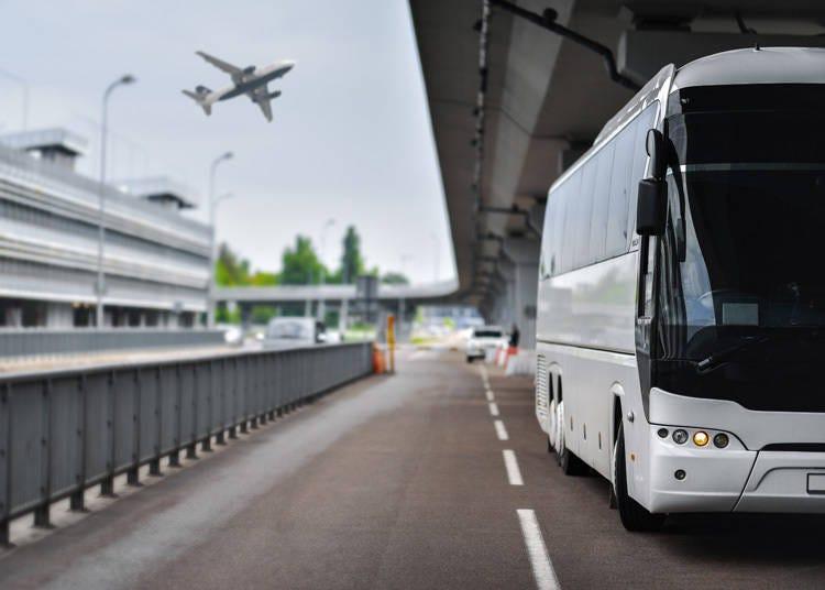 버스로 나리타 공항에서 우에노역으로 가는 방법