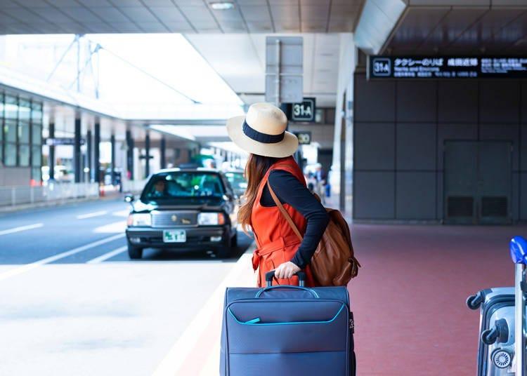 從成田機場搭<計程車>到淺草站