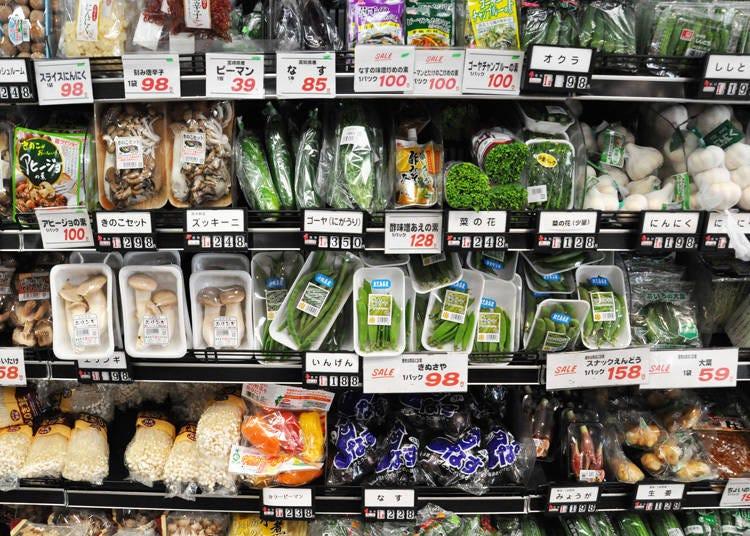野菜も果物も日本は小さくて高い