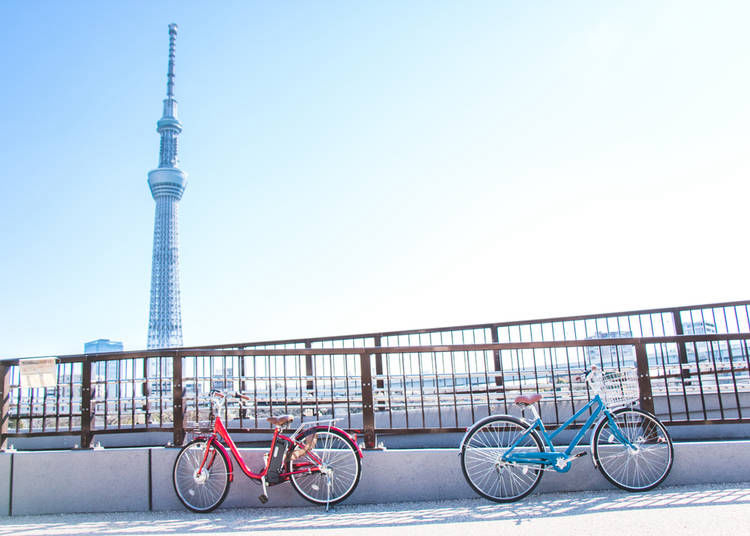5. Cycling Tour of East Tokyo