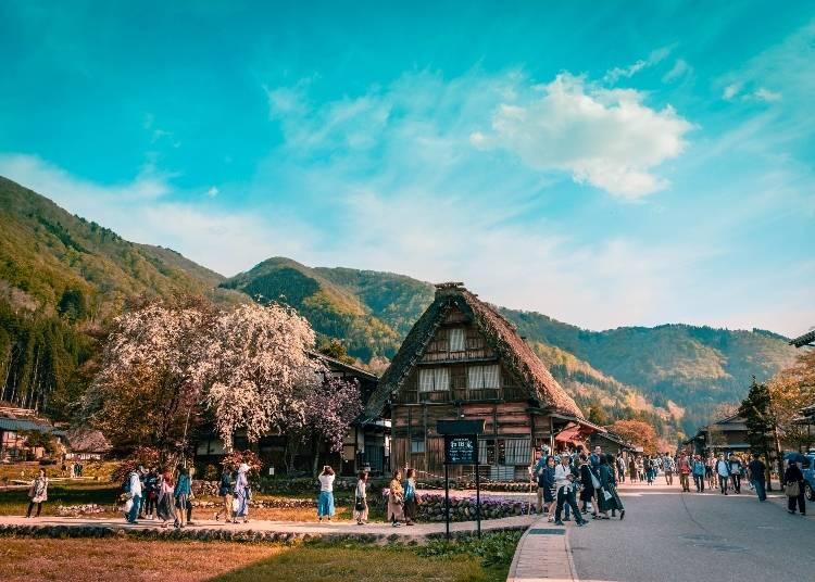 6. Shirakawago