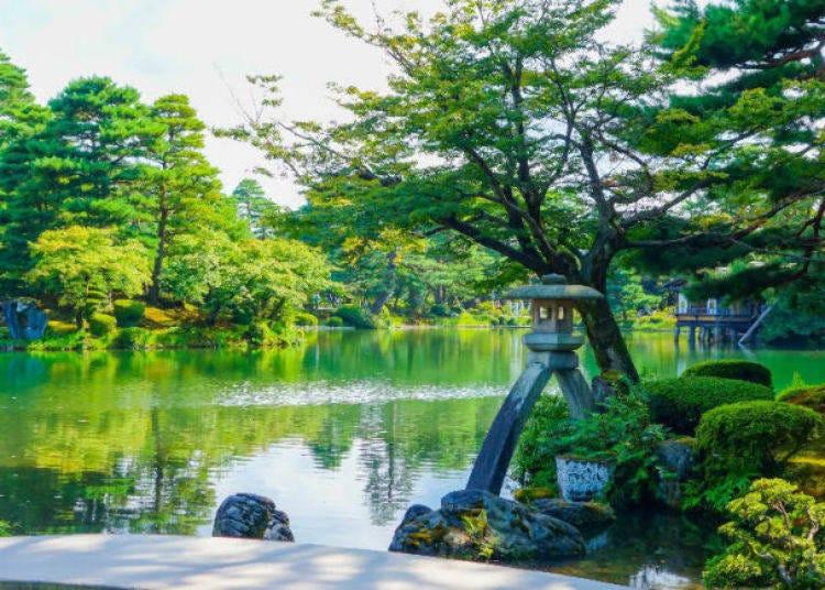 3. Strolling Garden (Kenrokuen, Kanazawa)
