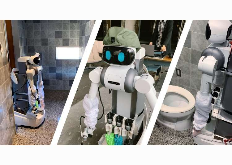 This Radical Japanese Robot Will Make Toilet Chores A Thing Of The Past!