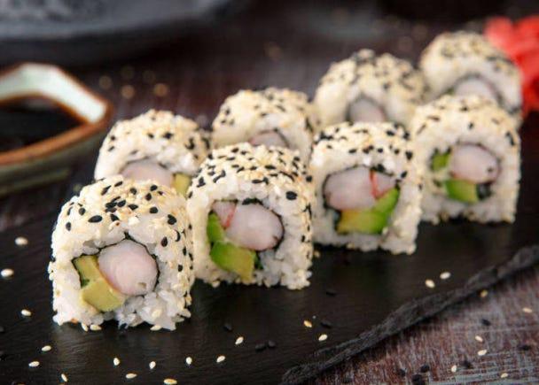 日本人にとってカリフォルニアロールは寿司じゃないでしょ?でも美味しい。それと同じ