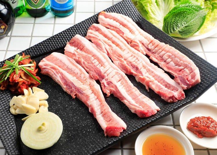 生サムギョプサルを提供する韓国料理店「韓国食堂ケグリ」
