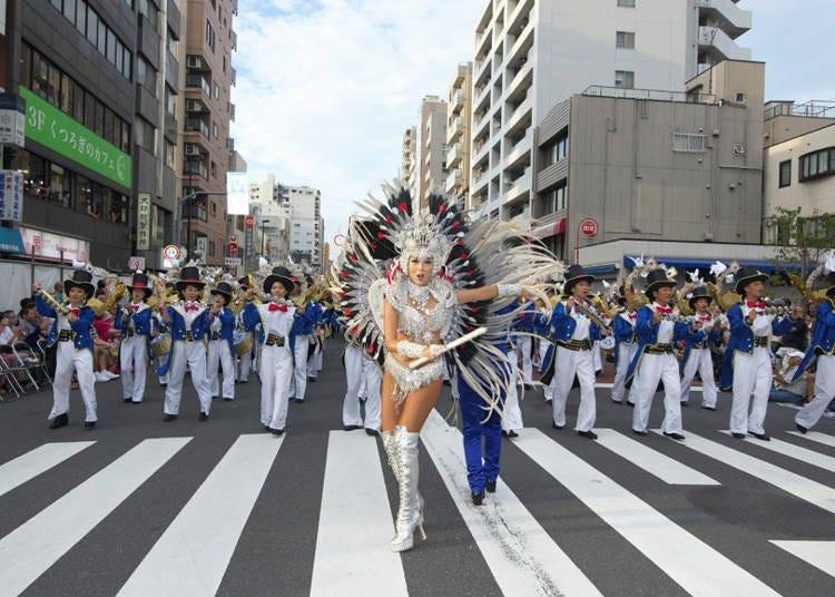 Asakusa Samba Carnival: Date and time