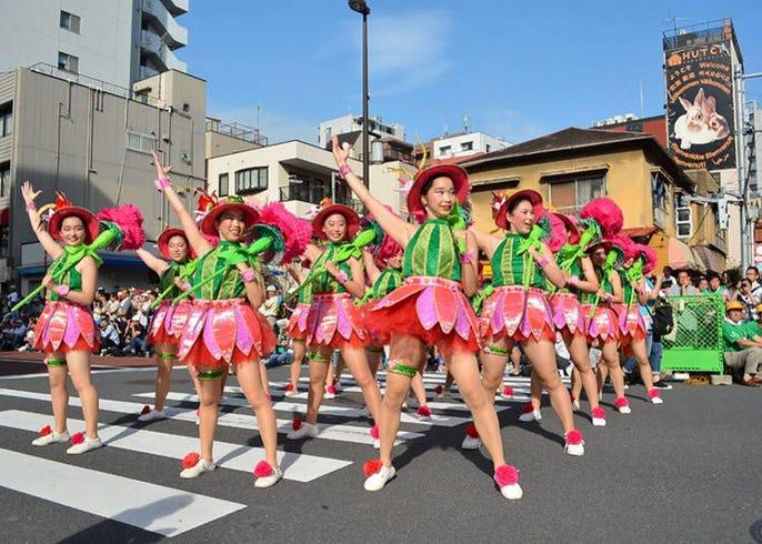 浅草 サンバ カーニバル 時間