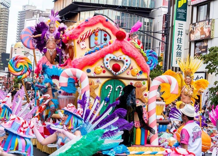 東京夏季的最大盛典-「淺草森巴嘉年華」