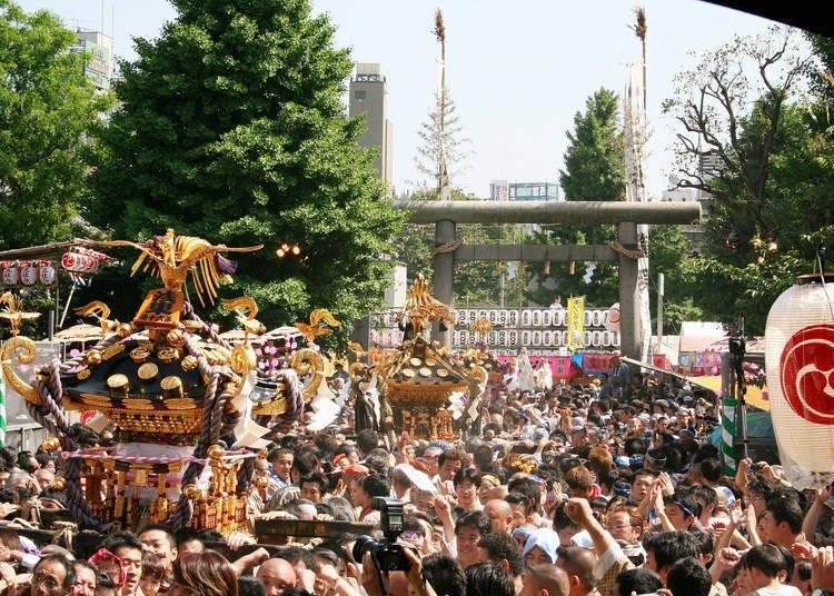 浅草三社祭必看点②浩浩荡荡出发的御神舆