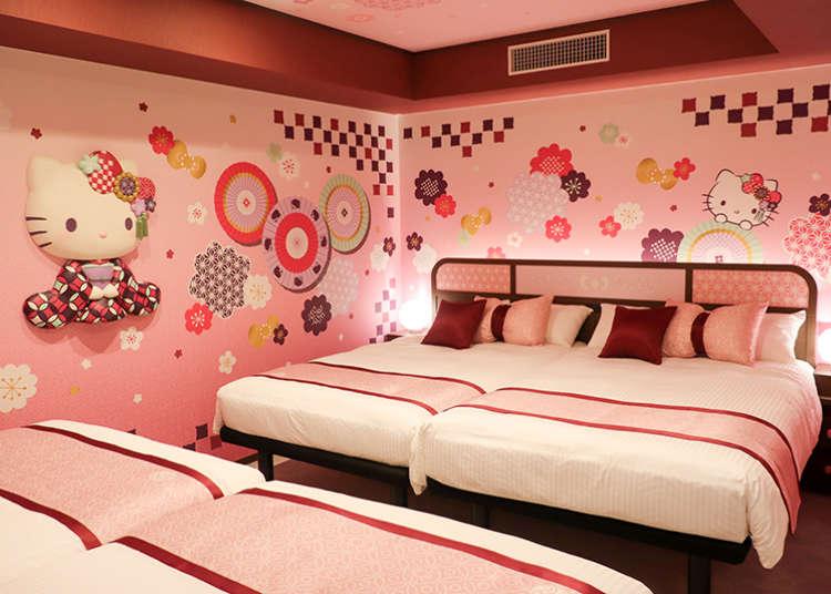 2020新開幕「淺草東武飯店」Hello Kitty鐵粉快手刀入住啊!