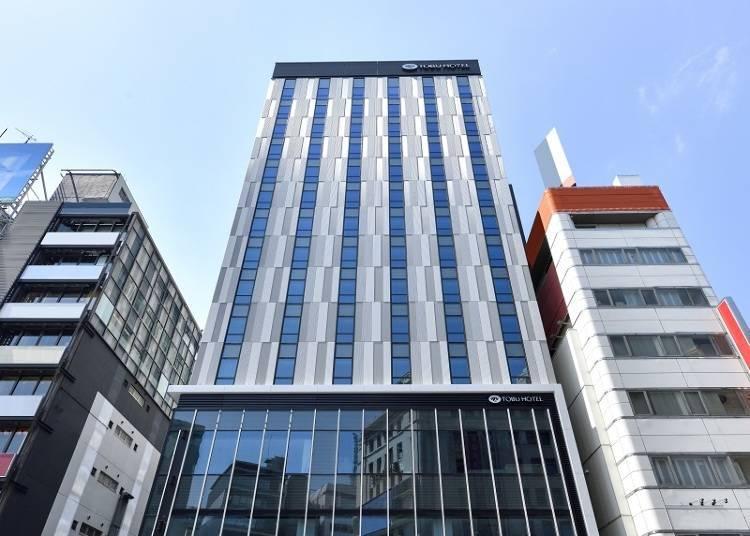 距離淺草站超近!2020年10月盛大開幕的「淺草東武飯店」
