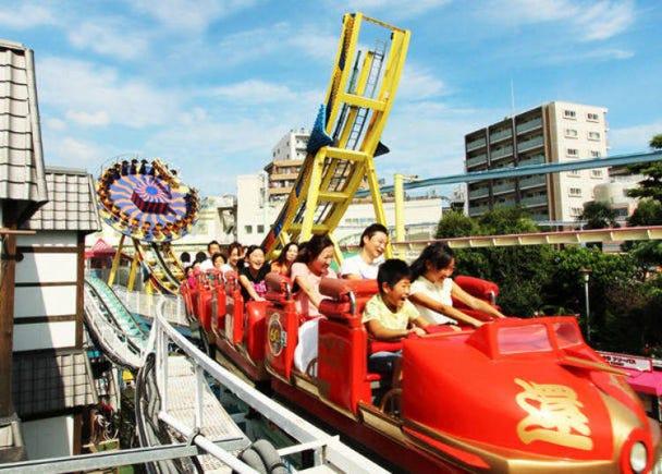AM10:00 浅草花やしきで日本の遊園地を体験!