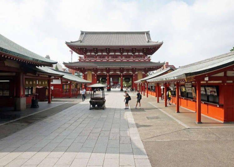 【淺草一日遊-AM7:00】獨佔淺草最具代表性的觀光景點-淺草寺