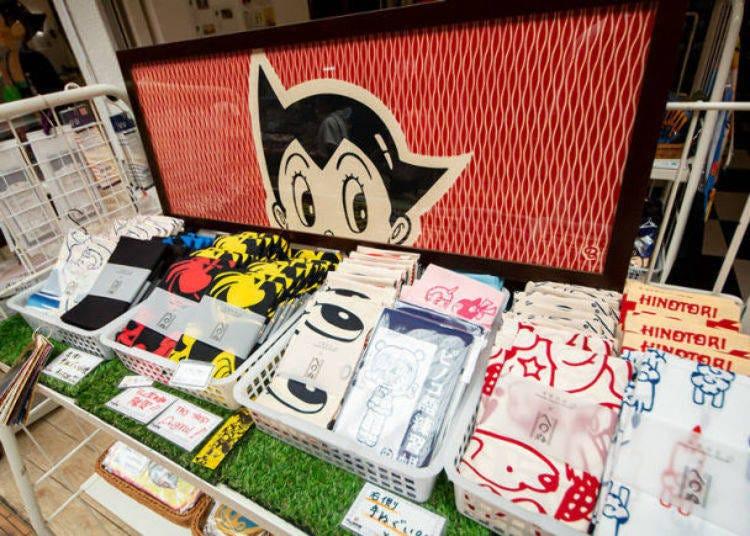 淺草必玩清單8. 在「ATOM堂本舖」搜刮手塚治虫的官方周邊商品