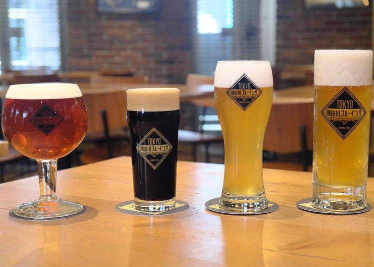 东京浅草精酿啤酒&肉料理餐厅「TOKYO隅田川Brewing」直击!