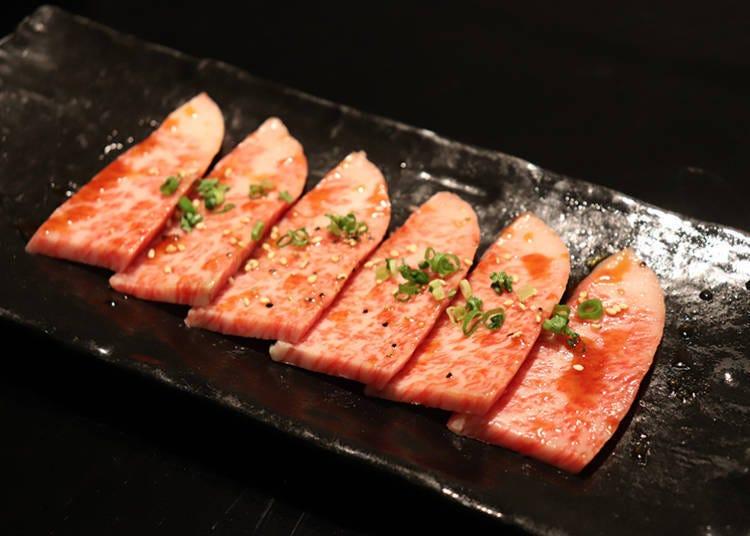 浅草午餐推荐②日本三大和牛烤肉「松阪牛五花LUNCH」