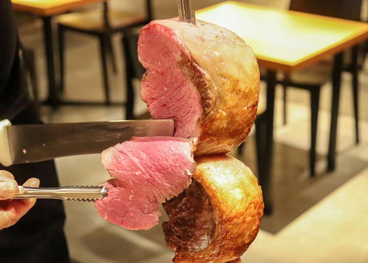 浅草吃到饱!巴西烤肉&料理专门店「Que Bom!」