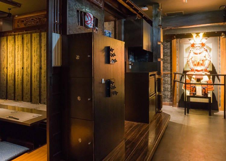 The ninja house izakaya in Asakusa! Come here to feel history come alive with Japanese cuisine!
