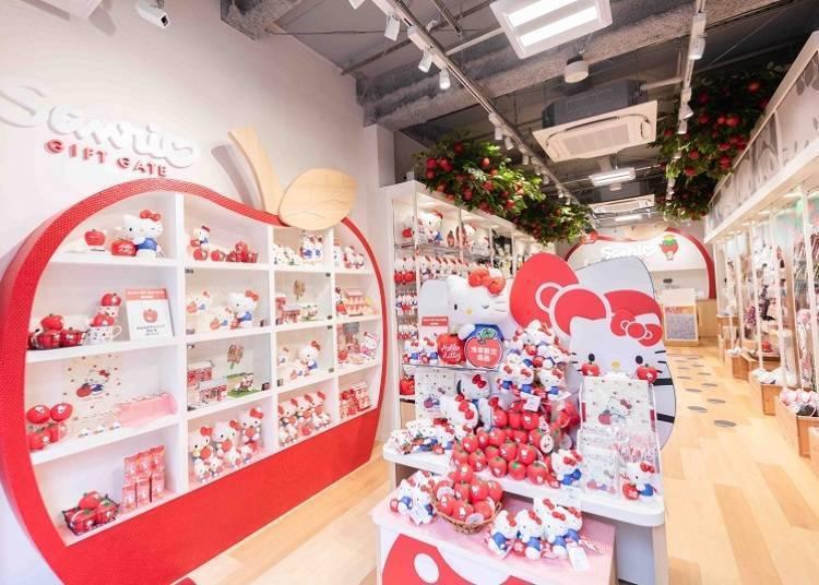 被Hello Kitty包围的幸福感在这里! 「Sanrio Gift Gate浅草店」