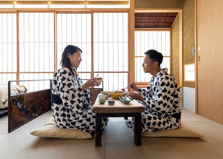 일본스러운 정성이 가득한 '다실 ryokan asakusa'