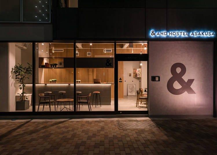 浅草饭店⑥在饭店里体验日本科技-「&AND HOSTEL ASAKUSA」