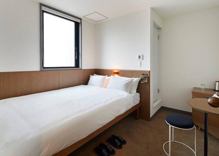 淺草飯店①簡約乾淨的日系旅宿-「MUSTARD™ HOTEL ASAKUSA2」