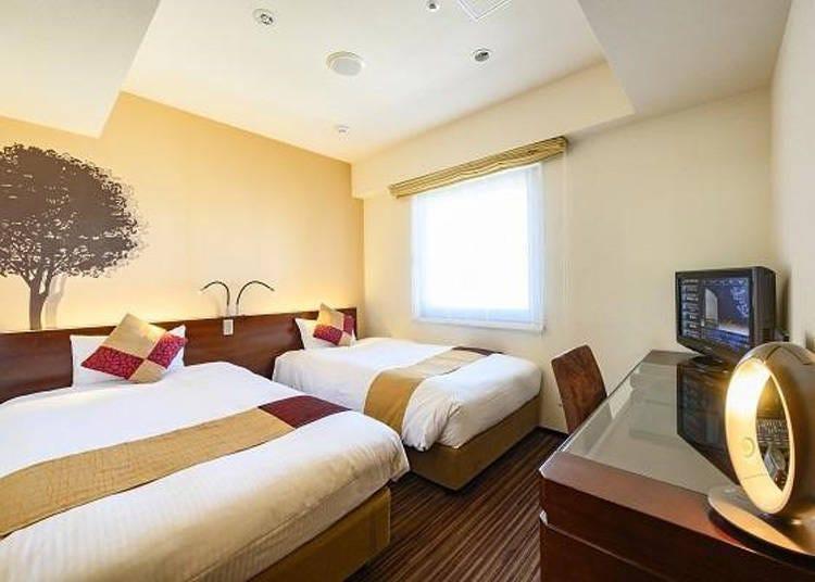 淺草飯店⑤沉著的優雅空間-「京阪淺草飯店」