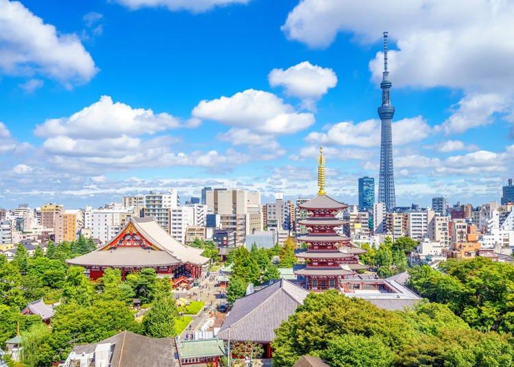 伝統と近代的な街並みが融合している風景に感動!